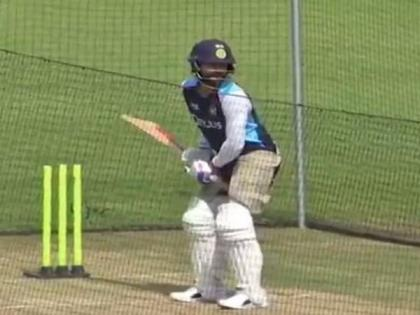 Ind vs Eng: Virat Kohli has a hit at the nets as Indians play warm-up game | Ind vs Eng: Virat Kohli has a hit at the nets as Indians play warm-up game