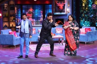 Anuradha Paudwal 'exposes' Udit Narayan's antics on 'The Kapil Sharma Show' | Anuradha Paudwal 'exposes' Udit Narayan's antics on 'The Kapil Sharma Show'