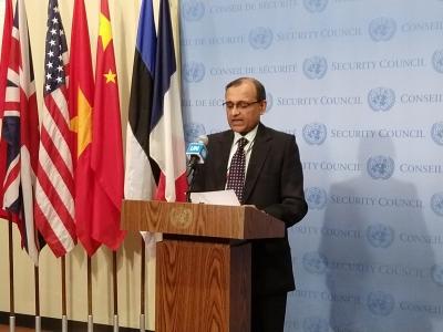 India's Tirumurti presides over UNSC meeting   India's Tirumurti presides over UNSC meeting