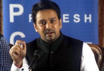 Anurag Thakur allotted plum I&B portfolio   Anurag Thakur allotted plum I&B portfolio