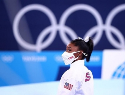 Olympics: USA gymnast Simone Biles pulls out of Monday's floor exercise final   Olympics: USA gymnast Simone Biles pulls out of Monday's floor exercise final