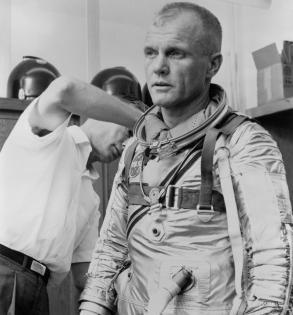 NASA celebrates 100th birthday of 1st American to orbit the planet   NASA celebrates 100th birthday of 1st American to orbit the planet