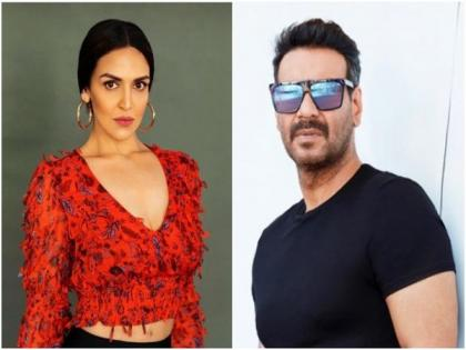 Ajay Devgn welcomes Esha Deol to the team of 'Rudra- The Edge Of Darkness' | Ajay Devgn welcomes Esha Deol to the team of 'Rudra- The Edge Of Darkness'