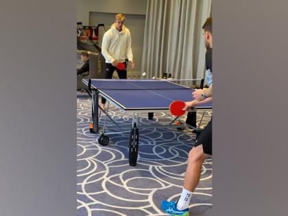 WTC final: Jamieson plays table tennis as wet weather delays start on Day Four   WTC final: Jamieson plays table tennis as wet weather delays start on Day Four
