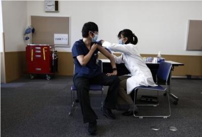 Japan's Okinawa suspends inoculation after more Moderna shots contaminated | Japan's Okinawa suspends inoculation after more Moderna shots contaminated