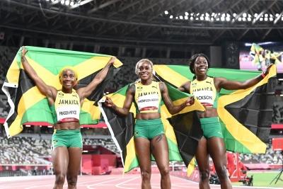 Jamaica's Elaine Thompson-Herah breaks Flo Jo's 33-yr-old 100m Olympic record   Jamaica's Elaine Thompson-Herah breaks Flo Jo's 33-yr-old 100m Olympic record