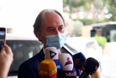 UN Syria envoy urges upholding int'l humanitarian law   UN Syria envoy urges upholding int'l humanitarian law