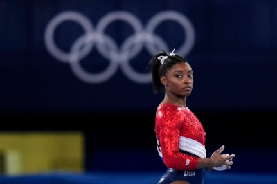 Fans divided over Simone Biles' withdrawal from floor exercise final   Fans divided over Simone Biles' withdrawal from floor exercise final