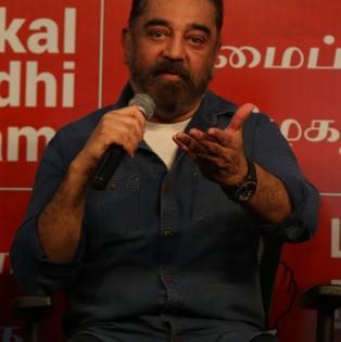 TN BJP protest against Mekedatu dam a double act: Kamal Haasan   TN BJP protest against Mekedatu dam a double act: Kamal Haasan