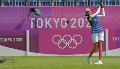 Olympics: Golfer Aditi Ashok cards 4-under 67, ends Day 1 tied second   Olympics: Golfer Aditi Ashok cards 4-under 67, ends Day 1 tied second