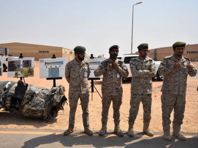 Saudi coalition foils Houthi drone attack | Saudi coalition foils Houthi drone attack