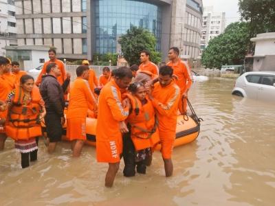 NDRF deploys 20 teams in Gujarat after heavy rainfall   NDRF deploys 20 teams in Gujarat after heavy rainfall