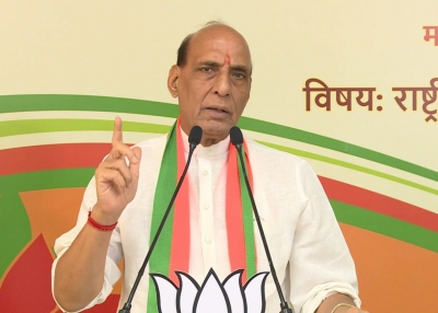 Rajnath highlights Afghan crisis at SCO, talks about 500 development projects by India | Rajnath highlights Afghan crisis at SCO, talks about 500 development projects by India