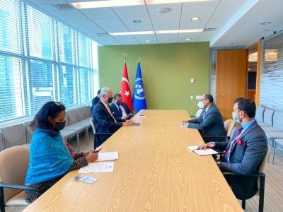 Tirumurti meets UNGA's Bozkir ahead of India assuming UNSC presidency | Tirumurti meets UNGA's Bozkir ahead of India assuming UNSC presidency