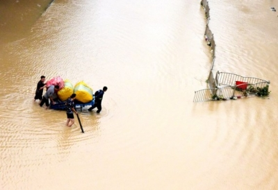 Death toll from heavy rains in China reaches 25   Death toll from heavy rains in China reaches 25
