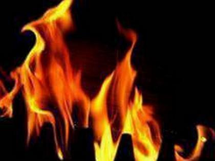 Massive fire breaks out in Afghanistan's Farah customs office | Massive fire breaks out in Afghanistan's Farah customs office
