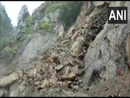 Gangotri National Highway closed after landslide, heavy rainfall | Gangotri National Highway closed after landslide, heavy rainfall