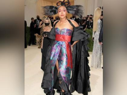 Naomi Osaka arrives at Met Gala in glamorous outfit co-designed by her sister   Naomi Osaka arrives at Met Gala in glamorous outfit co-designed by her sister