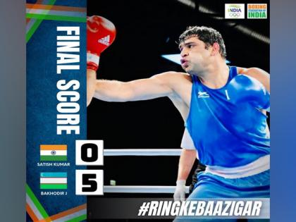 Tokyo Olympics: Gritty Satish Kumar bows out after losing to top-seed Bakhodir Jalolov | Tokyo Olympics: Gritty Satish Kumar bows out after losing to top-seed Bakhodir Jalolov