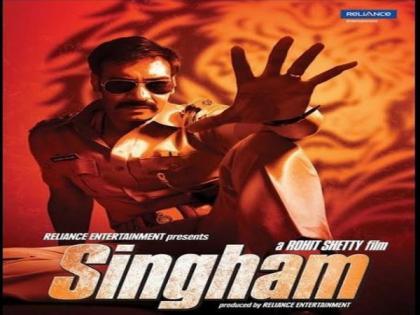 Ajay Devgn gets nostalgic as 'Singham' clocks 10 years   Ajay Devgn gets nostalgic as 'Singham' clocks 10 years