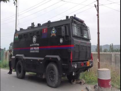 J-K Police inducts Black Panther Command Control Vehicle to boost operation capabilities | J-K Police inducts Black Panther Command Control Vehicle to boost operation capabilities