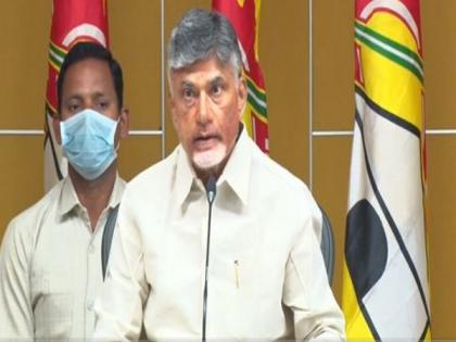 Chandrababu Naidu writes to Andhra DGP about Kopparru attack, seeks justice | Chandrababu Naidu writes to Andhra DGP about Kopparru attack, seeks justice