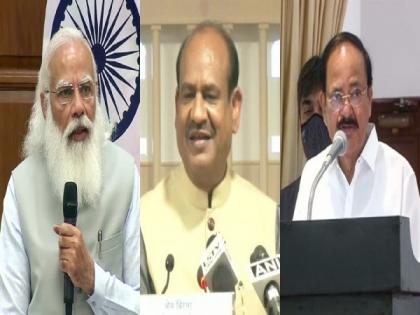 Vice President Naidu, PM Modi, LS Speaker to jointly launch Sansad TV today | Vice President Naidu, PM Modi, LS Speaker to jointly launch Sansad TV today