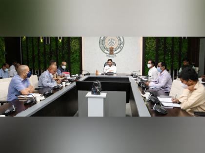 Andhra CM directs officials to strengthen COVID helpline 104 | Andhra CM directs officials to strengthen COVID helpline 104