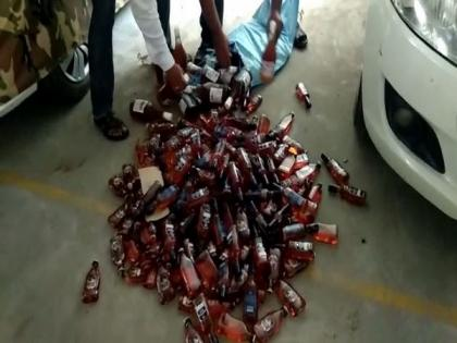 Kanaka Durga Temple trust member resigns after police seize liquor from her car, son held   Kanaka Durga Temple trust member resigns after police seize liquor from her car, son held