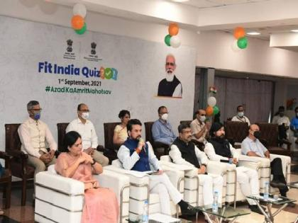 Sports Ministry announces free registration for 2 lakh school students for Fit India quiz   Sports Ministry announces free registration for 2 lakh school students for Fit India quiz