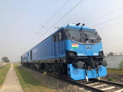 Railways operationalises its most powerful 12,000 HP made in India locomotive | Railways operationalises its most powerful 12,000 HP made in India locomotive