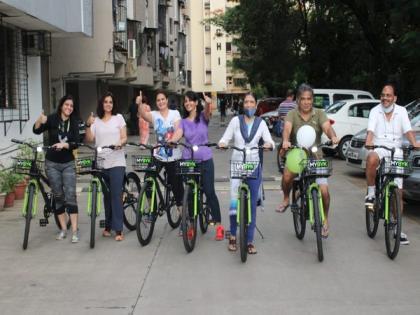 Mumbai residential societies take to MYBYK bike-sharing service to ensure wellbeing and sustainability | Mumbai residential societies take to MYBYK bike-sharing service to ensure wellbeing and sustainability