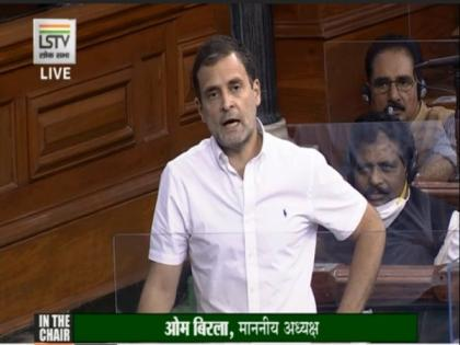 Rahul takes ' hum do, humare do' jibe at government in LS, says farm laws will impact food security | Rahul takes ' hum do, humare do' jibe at government in LS, says farm laws will impact food security