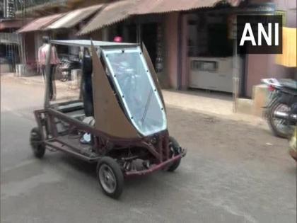 Farmer in Odisha builds solar-powered car during lockdown   Farmer in Odisha builds solar-powered car during lockdown