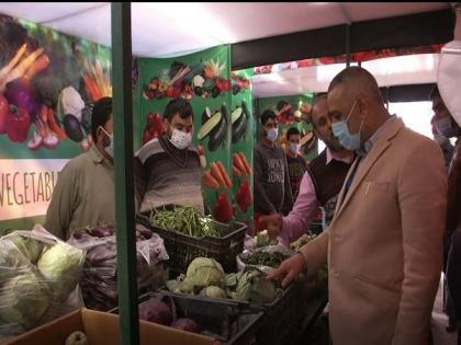 First organic vegetable market introduced in J-K's Srinagar   First organic vegetable market introduced in J-K's Srinagar