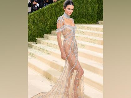 Kendall Jenner hits Met Gala 2021 red carpet in a stunning sheer gown   Kendall Jenner hits Met Gala 2021 red carpet in a stunning sheer gown