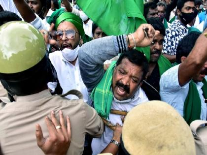 Amid claims over fighting for farmers' rights, Congress' kisan front devoid of office, president | Amid claims over fighting for farmers' rights, Congress' kisan front devoid of office, president
