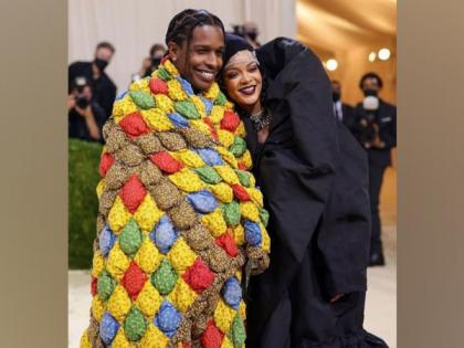 Met Gala 2021: Rihanna, A$AP Rocky make their red carpet debut | Met Gala 2021: Rihanna, A$AP Rocky make their red carpet debut