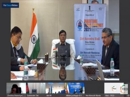 Chabahar Port has emerged as 'connecting point' to deliver humanitarian assistance: Mansukh Mandaviya | Chabahar Port has emerged as 'connecting point' to deliver humanitarian assistance: Mansukh Mandaviya