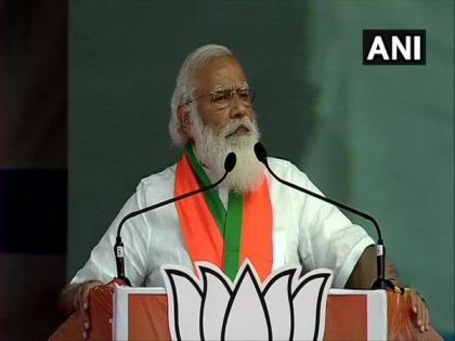 DMK, Congress meetings like 'corruption hackathons', their leaders brainstorm how to loot: PM Modi   DMK, Congress meetings like 'corruption hackathons', their leaders brainstorm how to loot: PM Modi