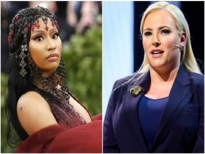 Meghan McCain slams Nicki Minaj for her vaccine tweet calling it 'deeply irresponsible' | Meghan McCain slams Nicki Minaj for her vaccine tweet calling it 'deeply irresponsible'