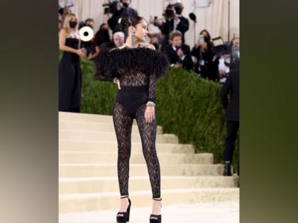 Olivia Rodrigo makes her Met Gala debut in a sheer lace bodysuit   Olivia Rodrigo makes her Met Gala debut in a sheer lace bodysuit