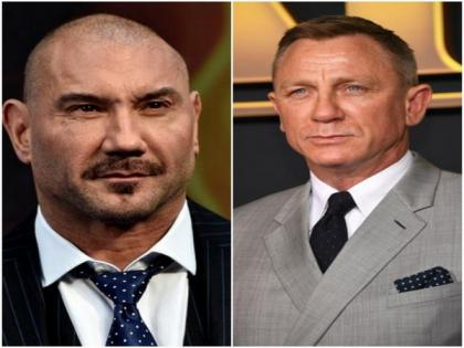 Dave Bautista joins Daniel Craig for 'Knives Out 2'   Dave Bautista joins Daniel Craig for 'Knives Out 2'
