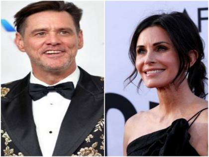 Courteney Cox admits she once had a crush on 'Ace Ventura' co-star Jim Carrey | Courteney Cox admits she once had a crush on 'Ace Ventura' co-star Jim Carrey