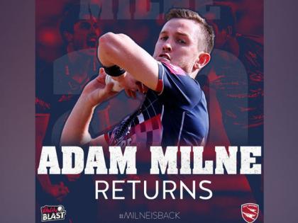 Vitality T20 Blast: Kent name Adam Milne as replacement for Mohammad Amir   Vitality T20 Blast: Kent name Adam Milne as replacement for Mohammad Amir
