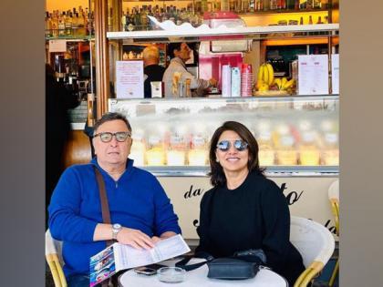 Neetu Kapoor remembers Rishi Kapoor with heartwarming throwback video   Neetu Kapoor remembers Rishi Kapoor with heartwarming throwback video