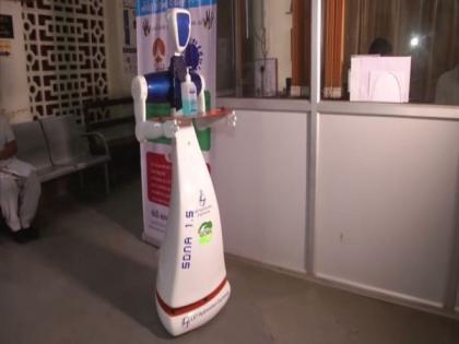 Robots deployed to serve COVID-19 patients in Vadodara based hospital   Robots deployed to serve COVID-19 patients in Vadodara based hospital