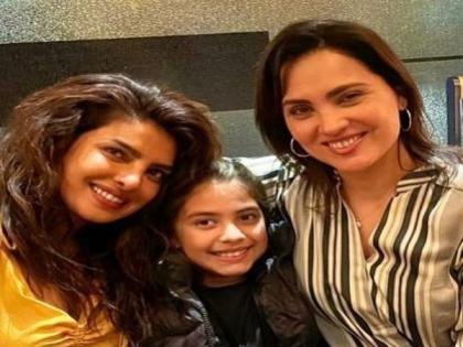 Priyanka Chopra celebrates 21 years of friendship with Lara Dutta in London | Priyanka Chopra celebrates 21 years of friendship with Lara Dutta in London
