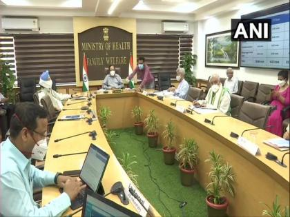 Union Health Minister chairs 28th GoM, says India's COVID-19 recovery rate improving | Union Health Minister chairs 28th GoM, says India's COVID-19 recovery rate improving