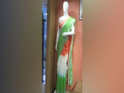 Tricolour sarees witness high demand ahead of Republic Day in Patna | Tricolour sarees witness high demand ahead of Republic Day in Patna